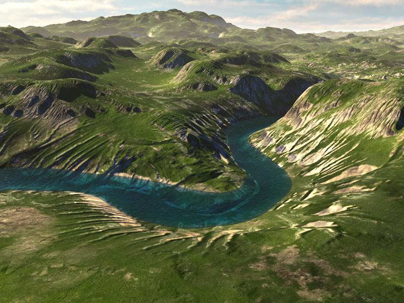 C4Depot Cinema 4D Plugin: Infinite Valleys - additional image 3