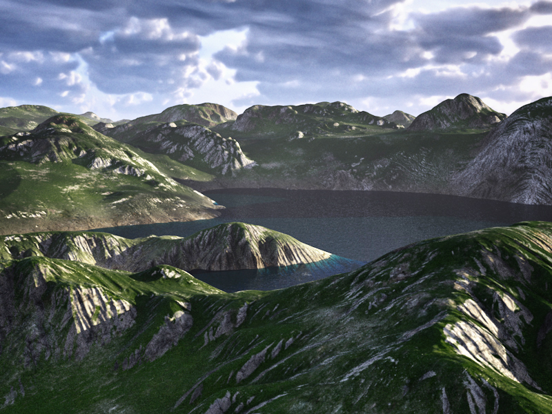 C4Depot Cinema 4D Plugin: Infinite Valleys - additional image 4