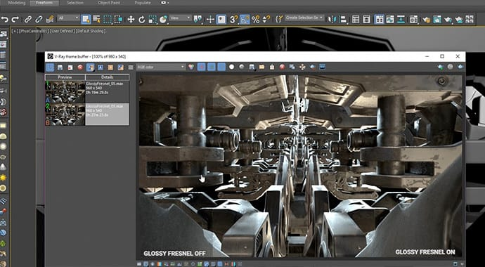 Chaos Group V-Ray Next for 3ds Max - Monthly Rental - additional image 3