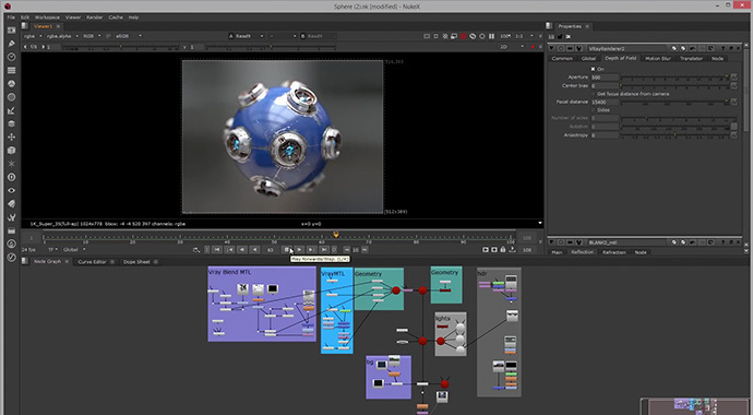 Chaos Group EDU 1 Year Term License - V-Ray for NUKE (Student) - additional image 3