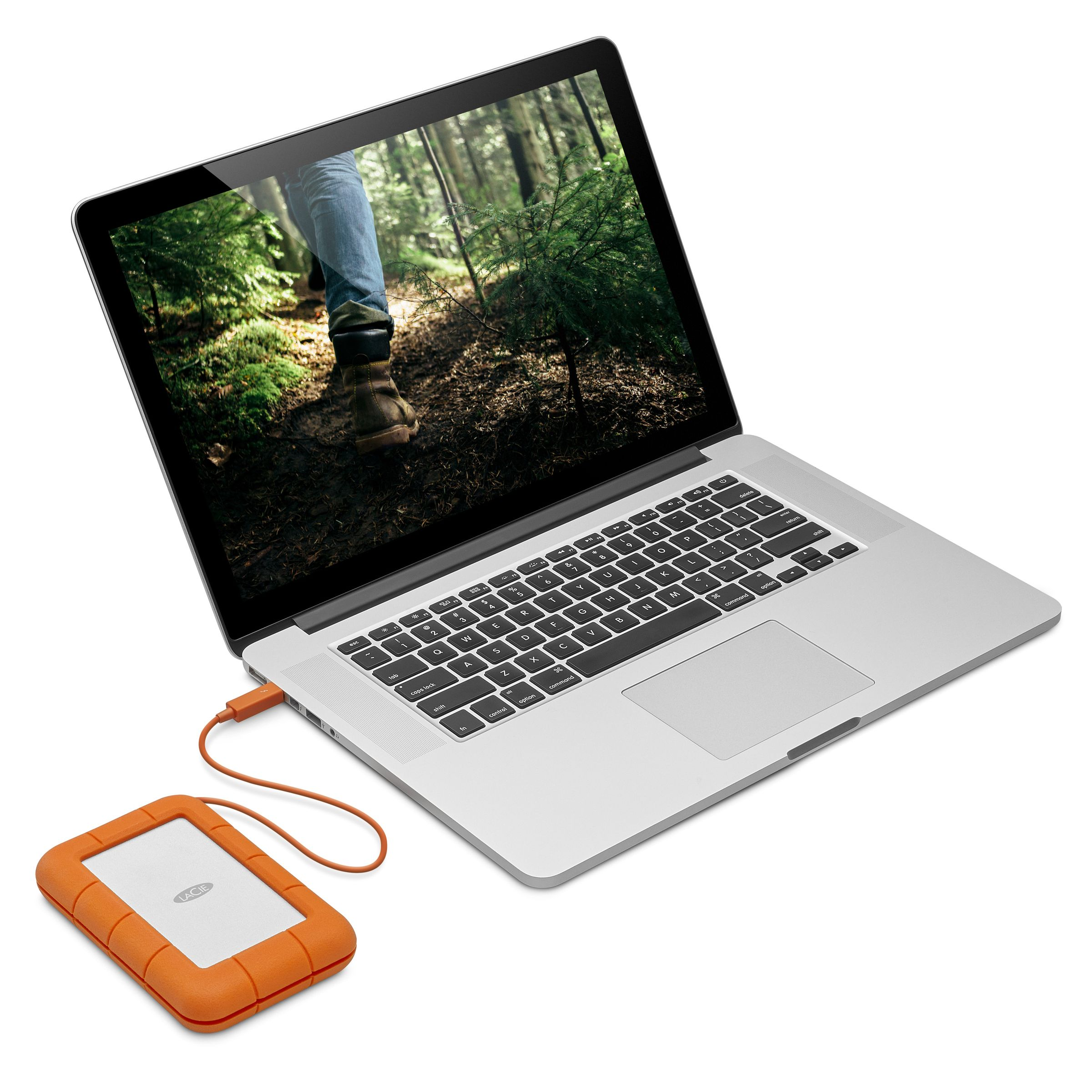 LaCie Rugged Secure All-Terrain Encrypted Storage 2TB - additional image 1