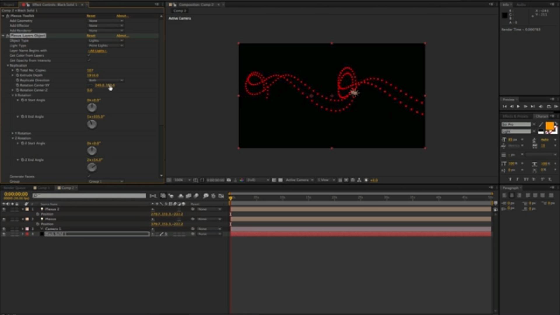 Rowbyte Plexus for Adobe After Effects v3.x (Floating Server License) - additional image 2