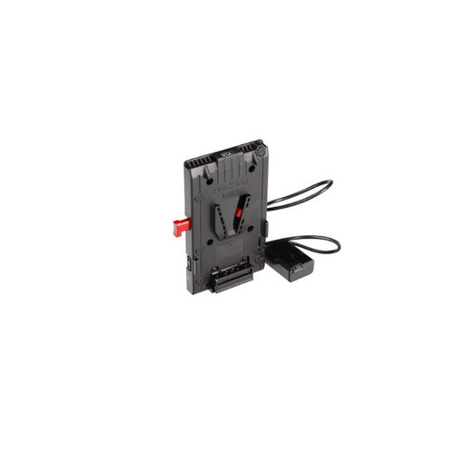 HEDBOX UNIX-FW50 V-Mount Battery Plate with 3x D-Tap 1x USB 1x 50cm cable to Sony FW50 Adapter - Image 1