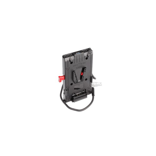 HEDBOX UNIX-1BL V-Mount Battery Plate with 3x D-Tap 1x USB 1x 50cm 2-pin FGG.1B.302 cable (RA) - Image 1