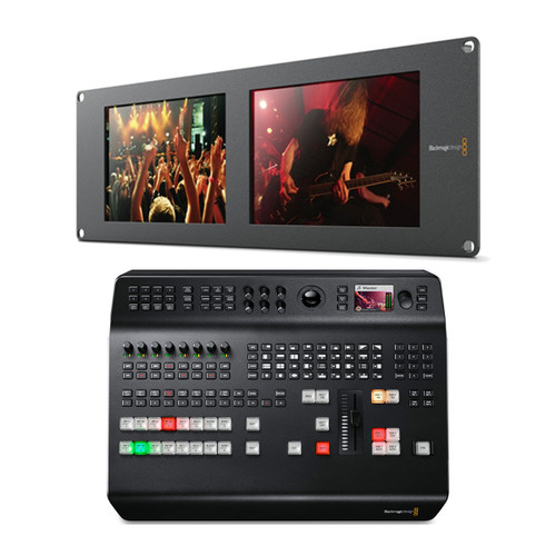Blackmagic Design ATEM Television Studio Pro 4K + SmartView Duo 2 - Image 1