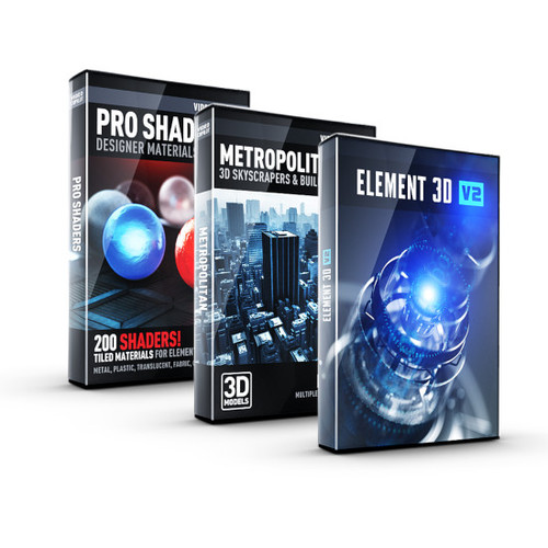 Video Copilot 3D Architecture Bundle - Image 1