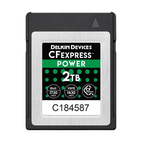 Delkin Devices CFexpress Power Memory Card 2TB - Image 1