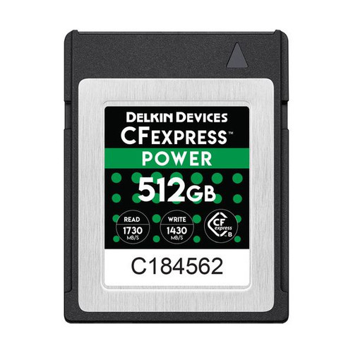 Delkin Devices CFexpress Power Memory Card 512GB - Image 1