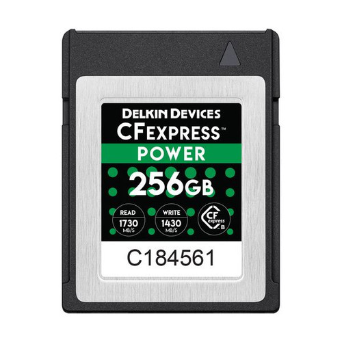 Delkin Devices CFexpress Power Memory Card 256GB - Image 1