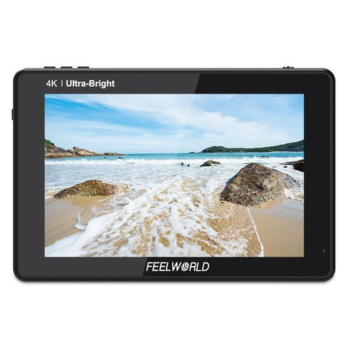Feelworld LUT7 7in 3D LUT 2200nit Touch Screen DSLR Camera Field Monitor - Image 1