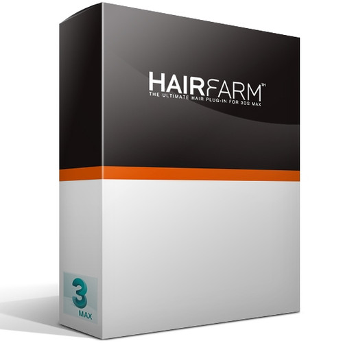 Hair Farm 2 Rendernode (Unlimited) for 3ds Max - Image 1