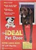 Ideal Original Plastic Framed Pet Doors