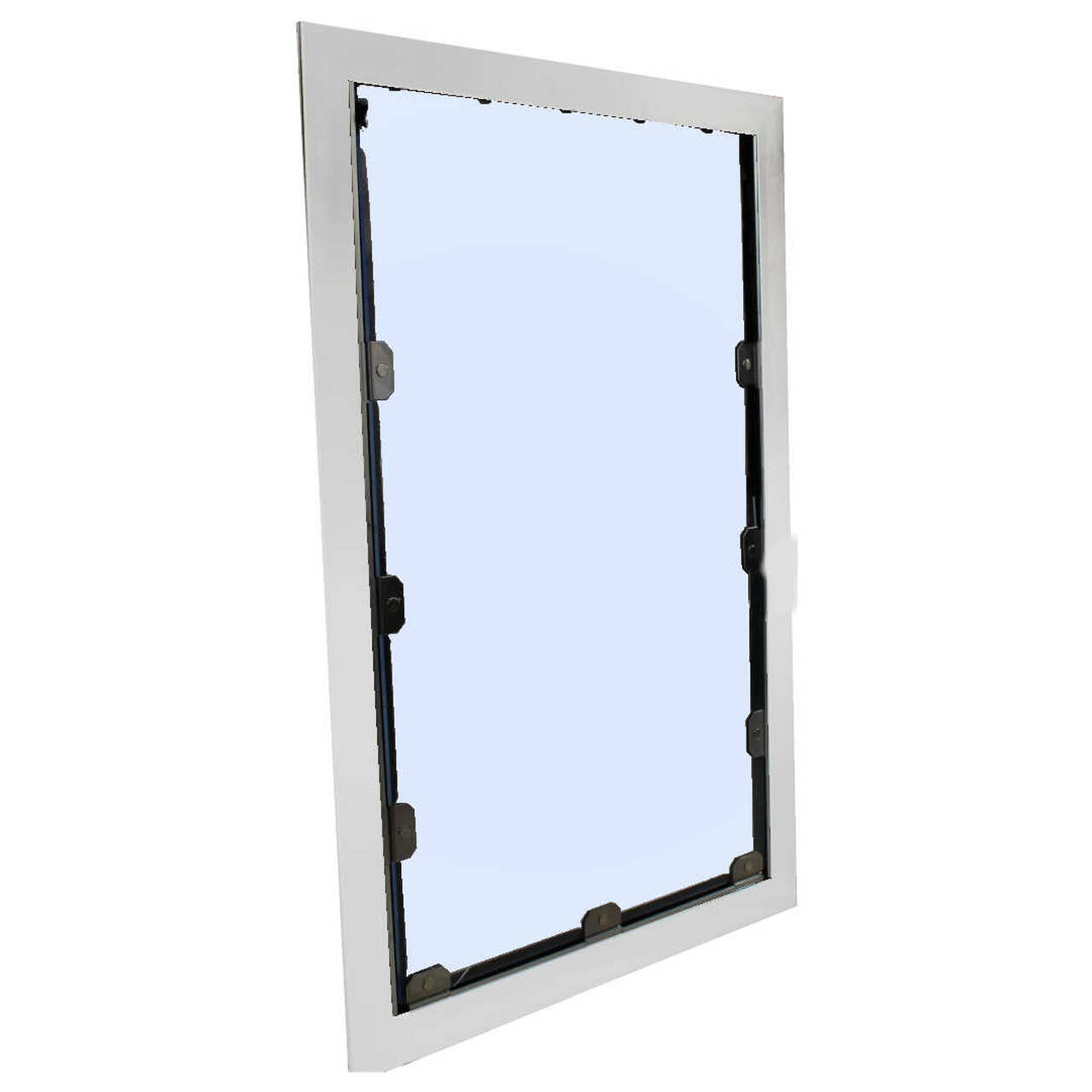 Professional 4 sided kennel door