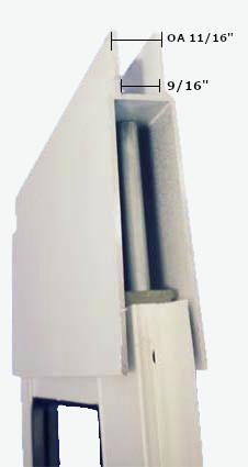 [photo] Security Boss Patio Pet Door top Section