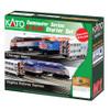 Kato N Scale F40PH Commuter Starter Set, Metra Set - 1060032