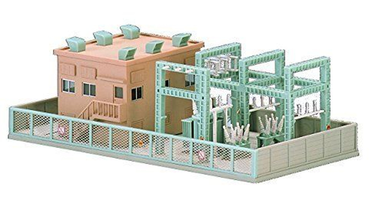 Tomix N Scale Power Substation Kit - 4023 on n scale construction, scale model house plans, n scale furniture, n scale tools, 1/24 scale house plans, n scale wallpaper, n scale design, g scale house plans, n scale concrete, n scale garden, n scale landscape, n scale blueprints, n scale architect, post-war house plans, vintage house plans, n scale building materials, n scale signs, paper model house plans, n scale lighting, n scale magazines,