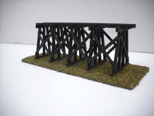 Train Time Laser N Scale Trestle Bridge Kit