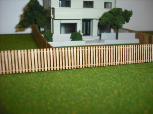 Train Time Laser N Scale Fence 4-Pack