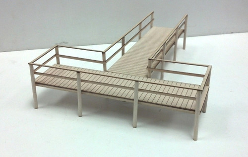 Train Time Laser O / S Scale Boat Dock Peir Kit