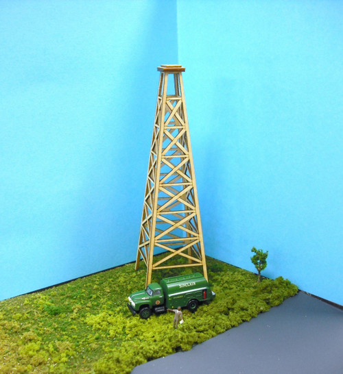 Train Time Laser HO Scale Oil Derrick Kit