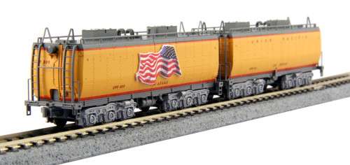 Kato N Scale Water Tender 2-Car Set, Union Pacific - 106-085
