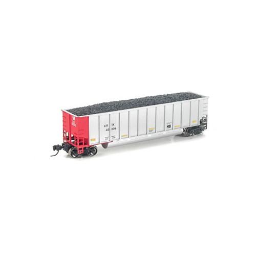 Athearn N Scale Bethgon Coalporters w/Load, TGNX #1 (5) - 24960