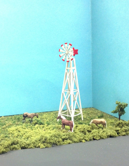 Train Time Laser N Scale Windmill Kit