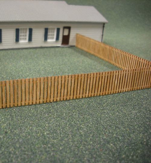 Train Time Laser HO Scale Fence Kit - (4-Pack)