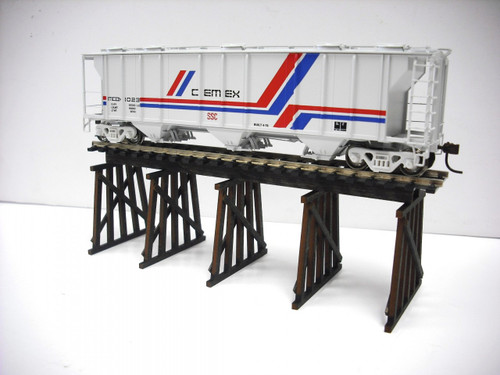 Train Time Laser HO Scale Trestle Bridge Kit