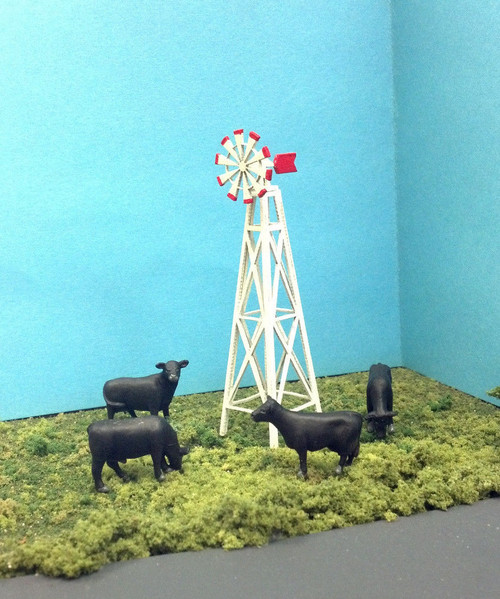 Train Time Laser HO Scale Windmill Kit