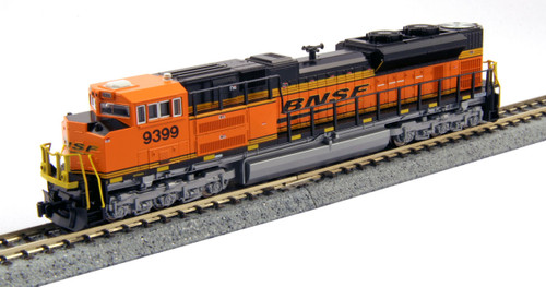 Kato N Scale SD70ACe, BNSF/Wedge #9376