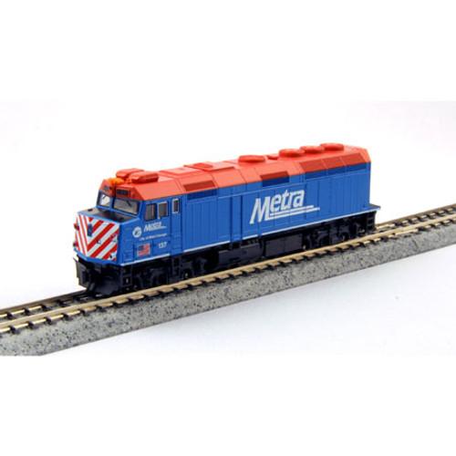Kato N Scale F40PH Metra#137