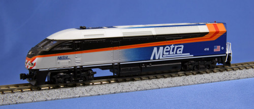 Kato N Scale MP36PH Metra/RTA#416