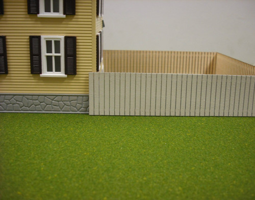 Train Time Laser O Scale Fence Kit (4 Pack)
