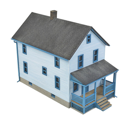 Walthers Cornerstone HO Scale Two-Story Frame House - 933-3786