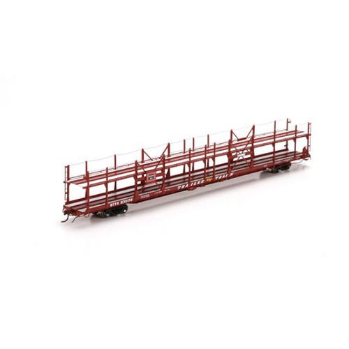 Athearn HO Scale F89-F Bi-Level Auto Rack, CB&Q #930177 - 29591