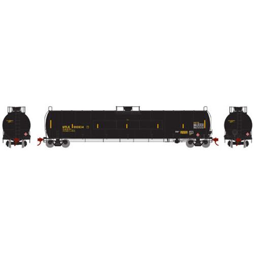 Athearn N Scale 33,900-Gallon LPG Tank/Flat Panel, UTLX #910934 - 24586
