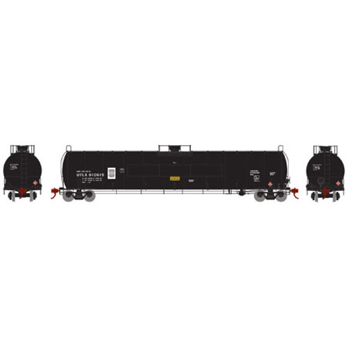 Athearn N Scale 33,900-Gallon LPG Tank/Flat Panel, UTLX #910615 - 24583