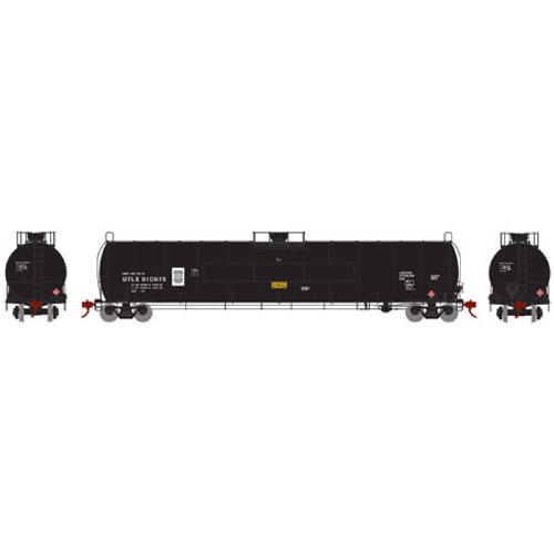 Athearn N Scale 33,900-Gallon LPG Tank/Flat Panel, UTLX #910615 - 24583