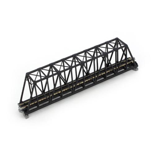 "Kato N 248mm 9-3/4"" Truss Bridge, Black - 20434"