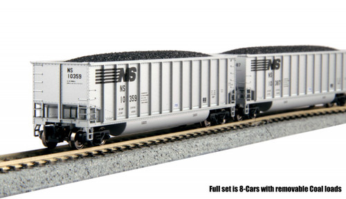 Kato N Bethgon Coalporter 8-Car Set, NS, Kato - 1064623