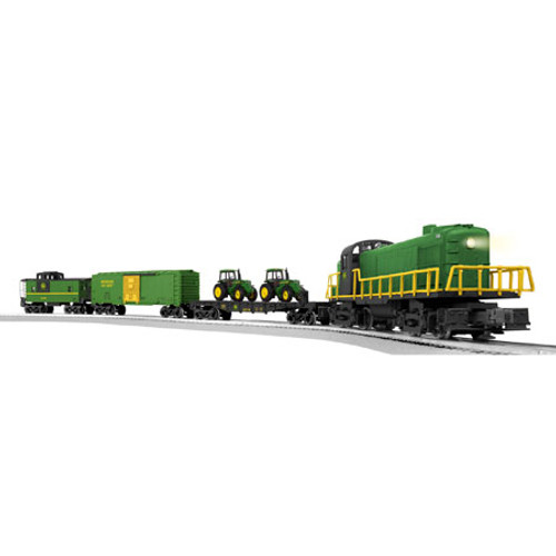 Lionel O Scale RS-3 John Deere Freight Set w/Remote - 6-81480