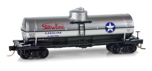 Micro Trains N 39' Single Dome Tank Car, Staroline #WSRX 438 - 06500750