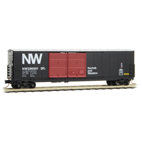 Micro Trains N Scale Norfolk & Western Boxcar - Rd# 286901  - 18200060