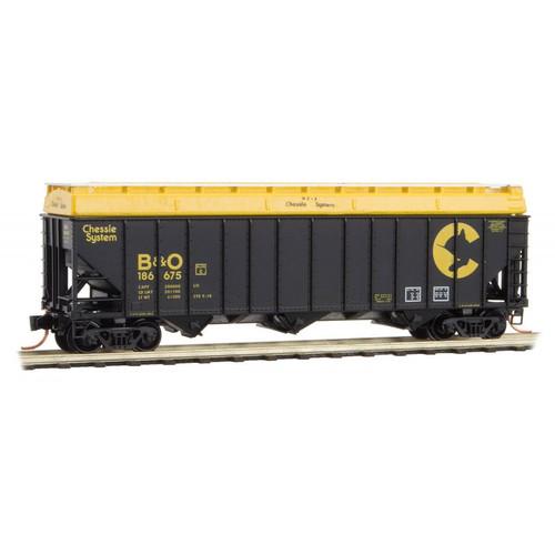 Micro Trains N Scale B&O 100 Ton Hopper #188675 - 10800240
