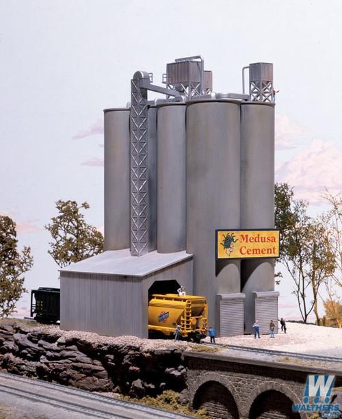 Walthers Cornerstone N Medusa Cement Company Kit - 933-3218