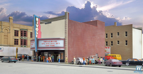 Walthers Cornerstone HO Scale Rivoli Theatre Kit - 933-3771