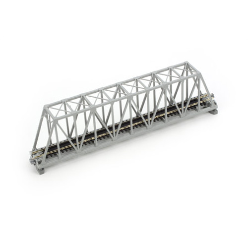 "KATO N 9-3/4"" 248mm Truss Bridge, Gray, 20432"