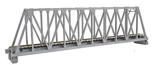"Kato N 248mm 9-3/4"" Truss Bridge, Silver - 20433"