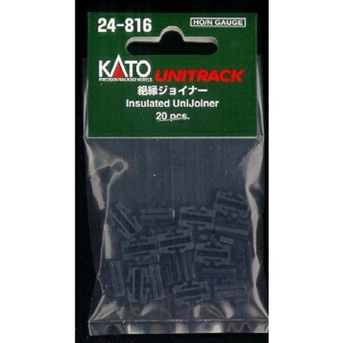 Kato HO/N Insulated UniJoiner 20 pcs. - 24816
